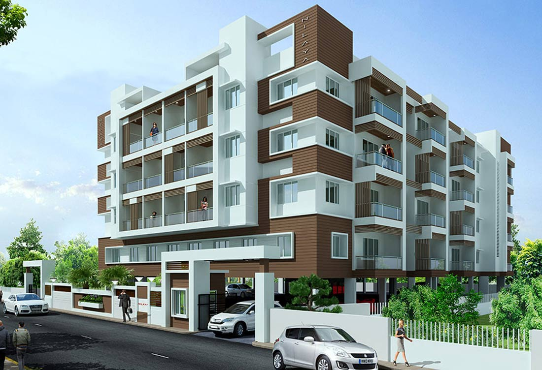 Nilaya premium apartments udupi for Apartment design 3d